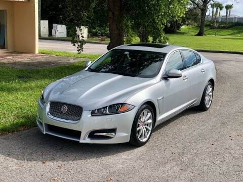2014 Jaguar XF for sale at Sunshine Auto Sales in Oakland Park FL