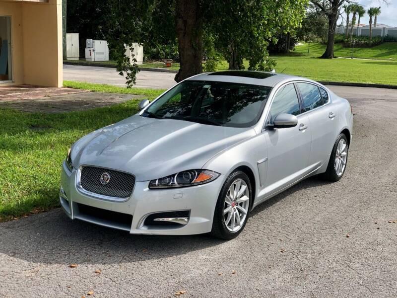 2014 Jaguar XF for sale at Sunshine Auto Sales in Oakland Park FL
