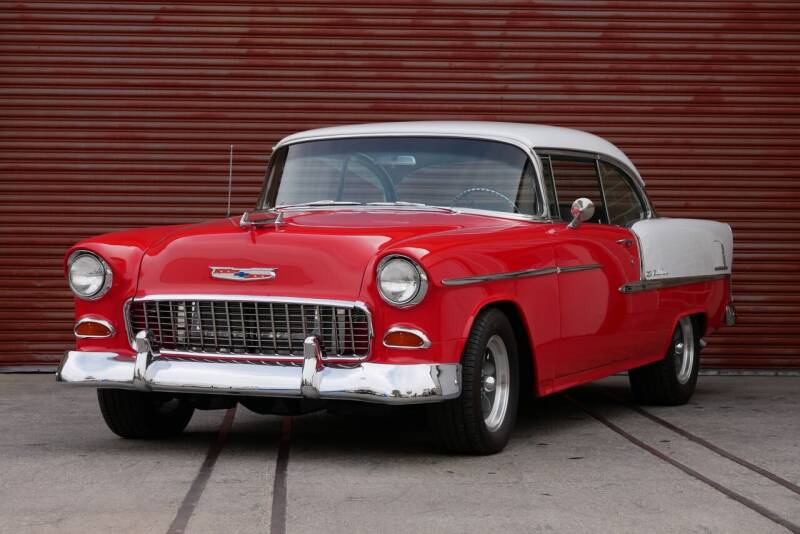 1955 Chevrolet Bel Air for sale at Sierra Classics & Imports in Reno NV