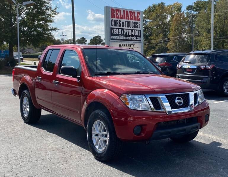 2016 Nissan Frontier for sale at Reliable Cars & Trucks LLC in Raleigh NC