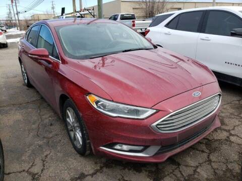 2017 Ford Fusion for sale at Jimmys Car Deals in Livonia MI