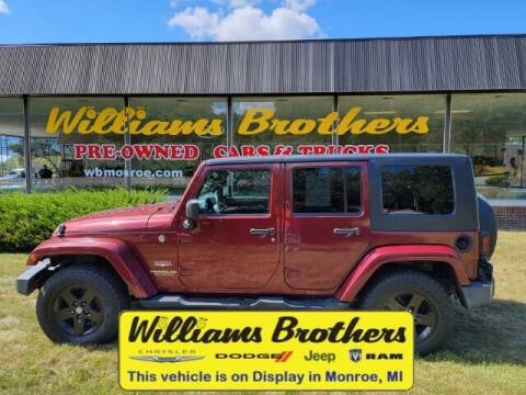 2007 Jeep Wrangler Unlimited for sale at Williams Brothers - Pre-Owned Monroe in Monroe MI