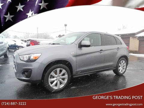 2014 Mitsubishi Outlander Sport for sale at GEORGE'S TRADING POST in Scottdale PA