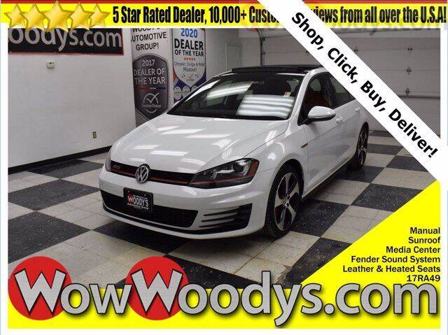 2017 Volkswagen Golf GTI for sale at WOODY'S AUTOMOTIVE GROUP in Chillicothe MO