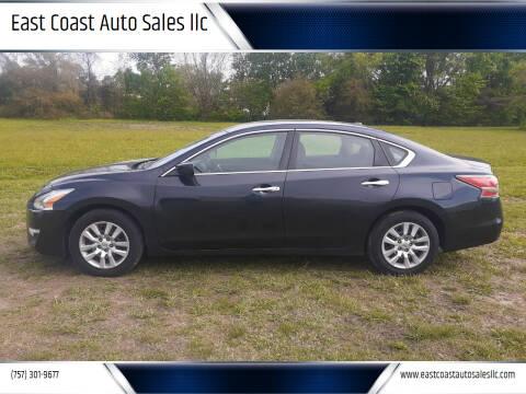 2015 Nissan Altima for sale at East Coast Auto Sales llc in Virginia Beach VA