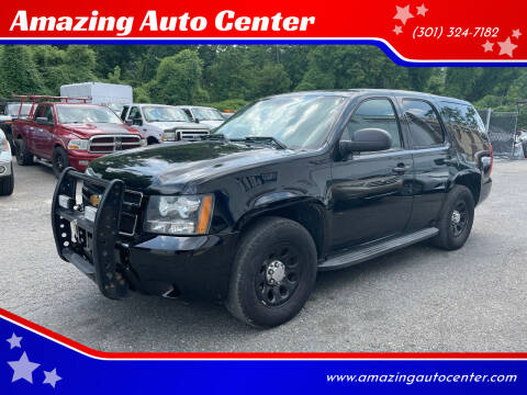 2012 Chevrolet Tahoe for sale at Amazing Auto Center in Capitol Heights MD
