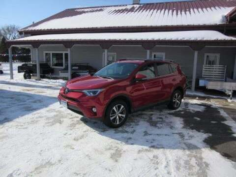 2017 Toyota RAV4 for sale at Stoufers Auto Sales, Inc in Madison Lake MN