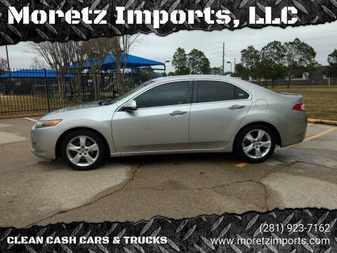 2009 Acura TSX for sale at Moretz Imports, LLC in Spring TX