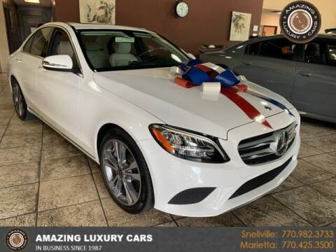 2020 Mercedes-Benz C-Class for sale at Amazing Luxury Cars in Snellville GA