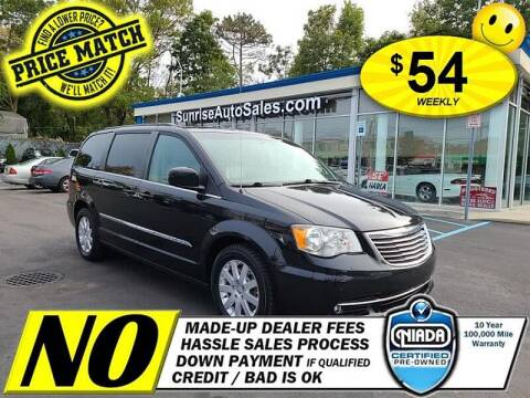 2016 Chrysler Town and Country for sale at AUTOFYND in Elmont NY