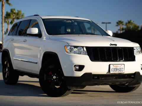 2012 Jeep Grand Cherokee for sale at Euro Auto Sales in Santa Clara CA