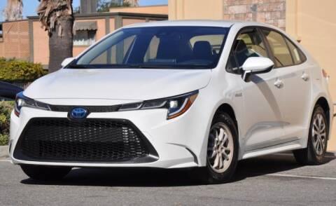 2021 Toyota Corolla Hybrid for sale at AMC Auto Sales Inc in San Jose CA