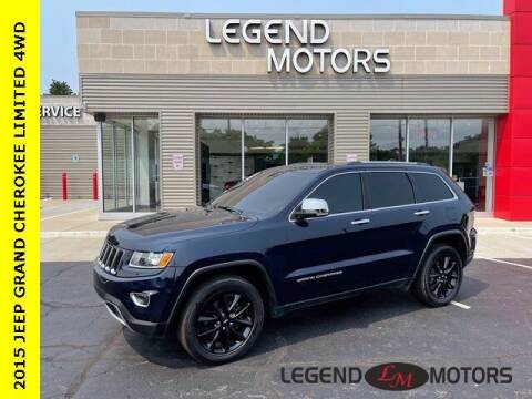 2015 Jeep Grand Cherokee for sale at Legend Motors of Waterford in Waterford MI