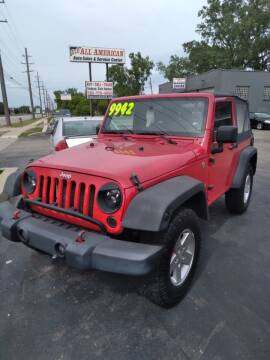 2008 Jeep Wrangler for sale at D and D All American Financing in Warren MI