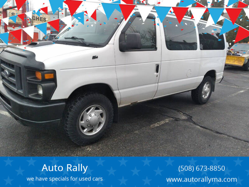 2013 Ford E-Series Wagon for sale at Auto Rally in Fall River MA