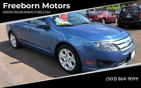 2010 Ford Fusion for sale at Freeborn Motors in Lafayette, OR