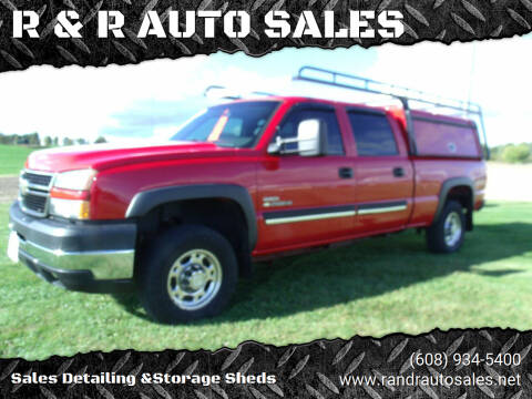 2007 Chevrolet Silverado 2500HD Classic for sale at R & R AUTO SALES in Juda WI