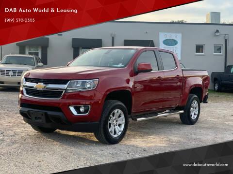 2017 Chevrolet Colorado for sale at DAB Auto World & Leasing in Wake Forest NC