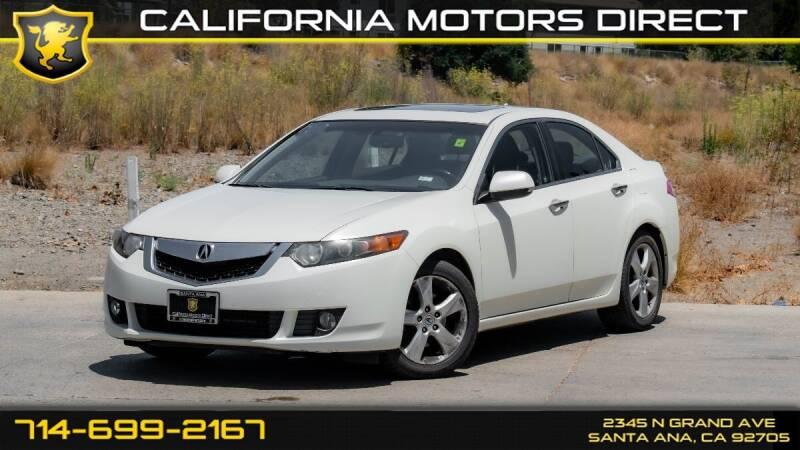 2010 Acura TSX for sale in Santa Ana, CA