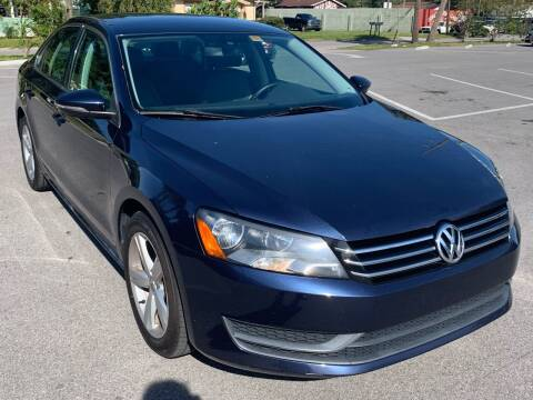 2012 Volkswagen Passat for sale at Consumer Auto Credit in Tampa FL
