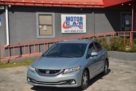 2015 Honda Civic for sale at Motor Car Concepts II - Kirkman Location in Orlando FL