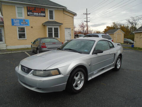 2004 Ford Mustang for sale at Top Gear Motors in Winchester VA