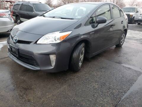 2014 Toyota Prius for sale at PARK AUTO SALES in Roselle NJ