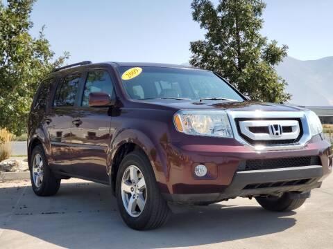 2009 Honda Pilot for sale at FRESH TREAD AUTO LLC in Springville UT