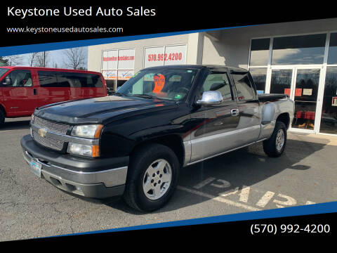 2005 Chevrolet Silverado 1500 for sale at Keystone Used Auto Sales in Brodheadsville PA