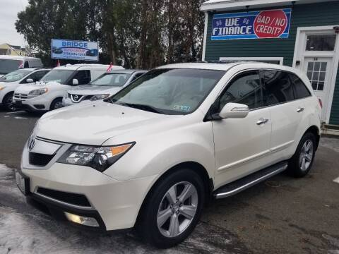 2012 Acura MDX for sale at Bridge Auto Group Corp in Salem MA