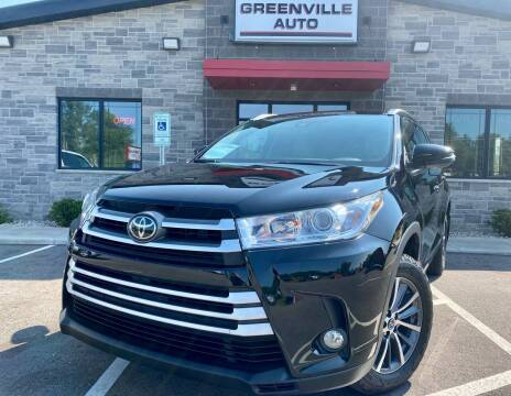 2018 Toyota Highlander for sale at GREENVILLE AUTO in Greenville WI