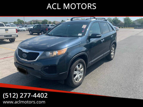 2011 Kia Sorento for sale at ACL MOTORS in Austin TX