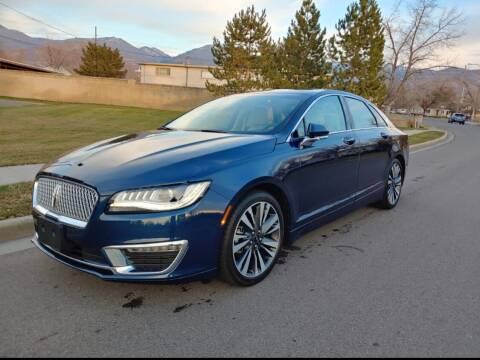 2017 Lincoln MKZ Hybrid for sale at A.I. Monroe Auto Sales in Bountiful UT
