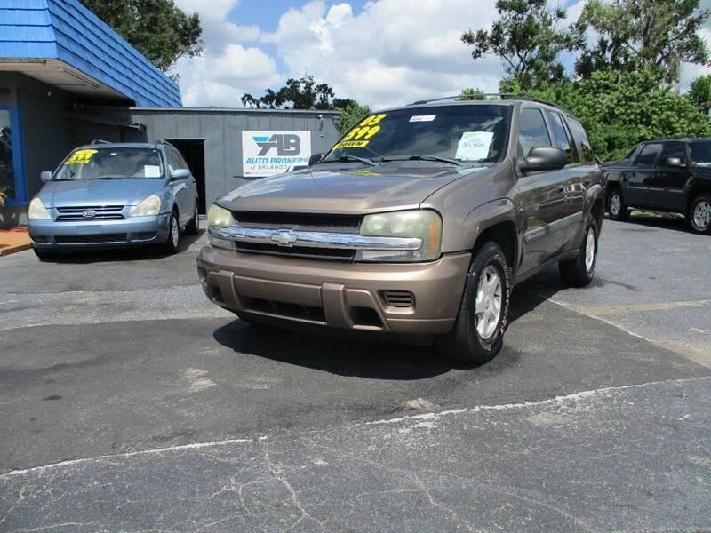 2003 Chevrolet TrailBlazer for sale at AUTO BROKERS OF ORLANDO in Orlando FL