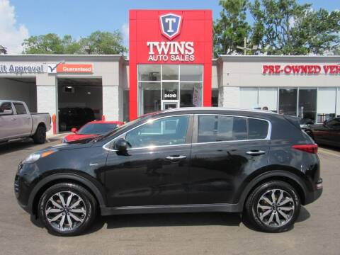 2017 Kia Sportage for sale at Twins Auto Sales Inc in Detroit MI