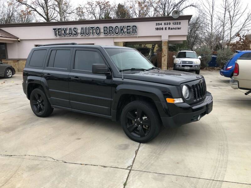 2015 Jeep Patriot for sale at Texas Auto Broker in Killeen TX