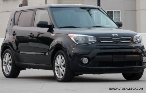 2017 Kia Soul for sale at Euro Auto Sales in Santa Clara CA