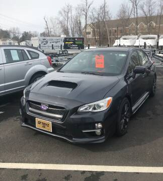 2015 Subaru WRX for sale at GT Toyz Motor Sports & Marine in Halfmoon NY