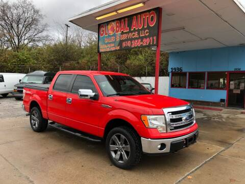 2013 Ford F-150 for sale at Global Auto Sales and Service in Nashville TN