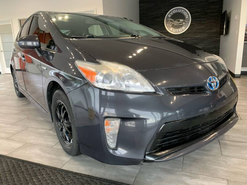 2013 Toyota Prius for sale at Evolution Autos in Whiteland IN