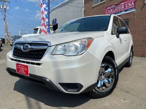 2014 Subaru Forester for sale at Carlider USA in Everett MA
