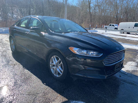 2013 Ford Fusion for sale at George Strus Motors Inc. in Newfoundland NJ