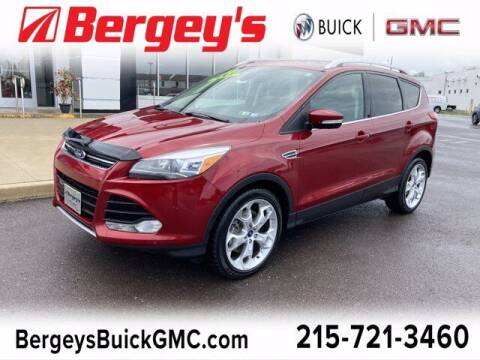 2014 Ford Escape for sale at Bergey's Buick GMC in Souderton PA