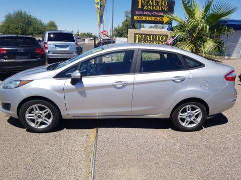 2018 Ford Fiesta for sale at 1ST AUTO & MARINE in Apache Junction AZ