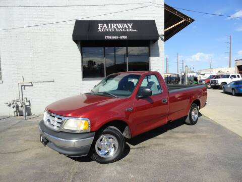 1999 Ford F-150 for sale at FAIRWAY AUTO SALES, INC. in Melrose Park IL