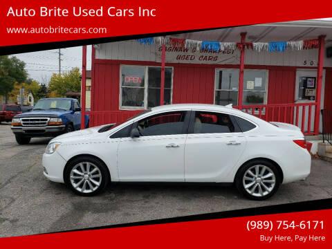 2013 Buick Verano for sale at Auto Brite Used Cars Inc in Saginaw MI