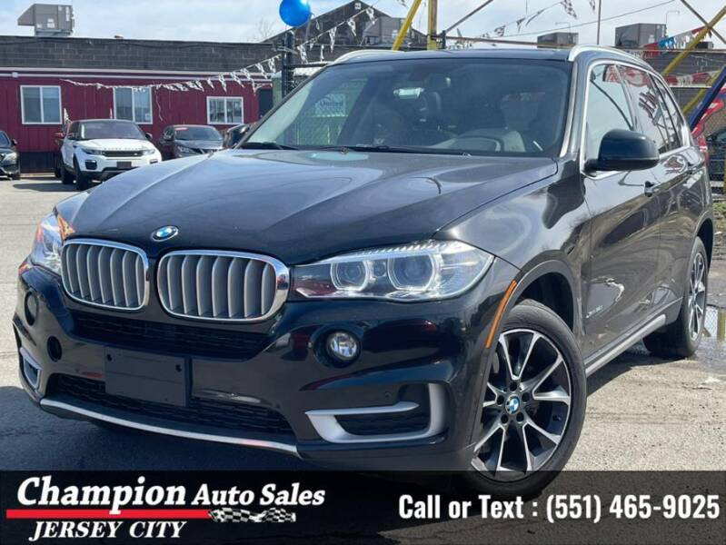 2018 BMW X5 for sale at CHAMPION AUTO SALES OF JERSEY CITY in Jersey City NJ