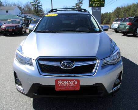 2016 Subaru Crosstrek for sale at NORM'S USED CARS INC in Wiscasset ME