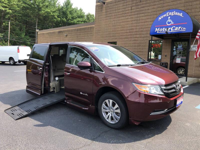 2015 Honda Odyssey for sale at CJ Clark's New England Motor Car Company in Hudson NH