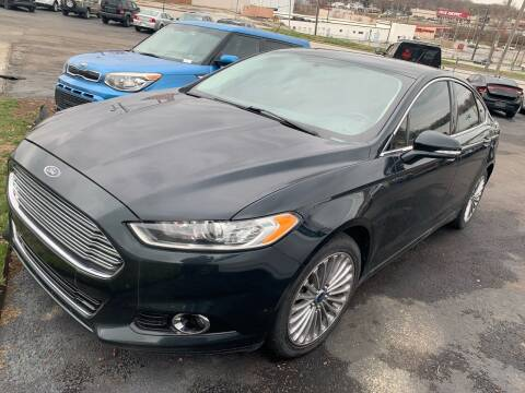 2014 Ford Fusion for sale at Capital Mo Auto Finance in Kansas City MO